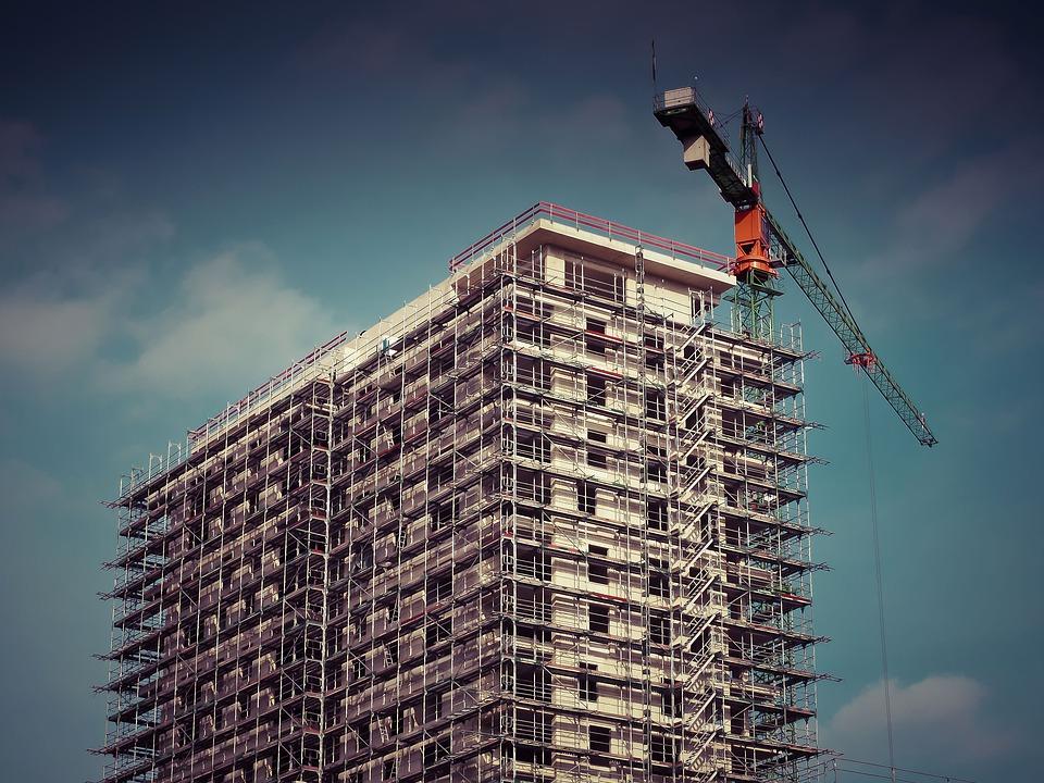 budowa nowego budynku mieszkalnego