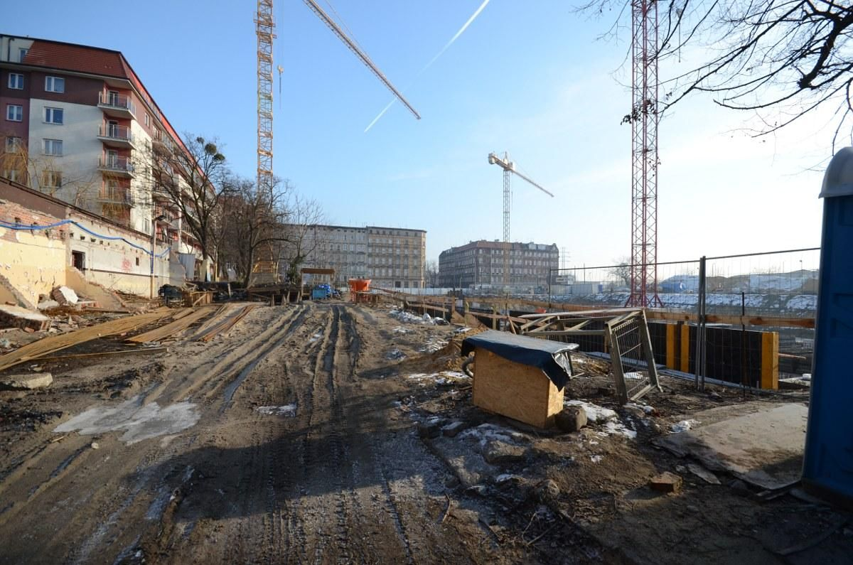 budowa nowego bloku we Wrocławiu