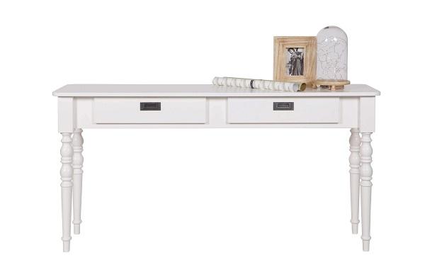 biurko skandynawskie białe i stylowe